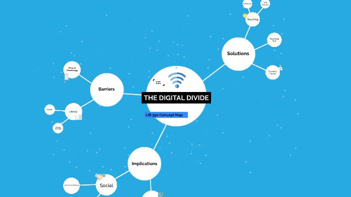 Digital Divide Concept Map By Daniel Shaker On Prezi