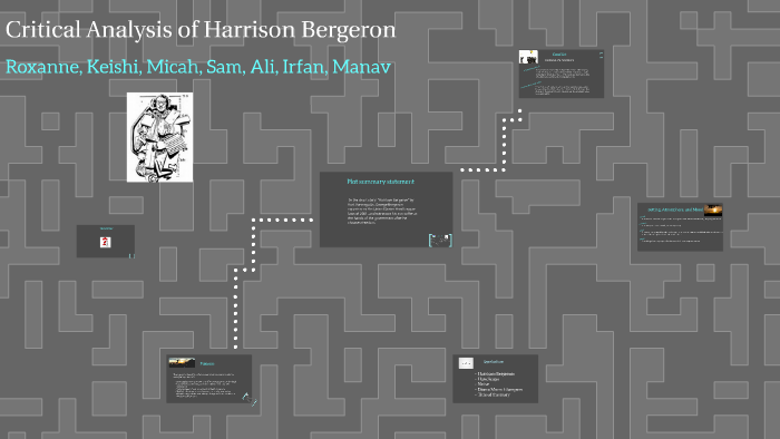 main conflict in harrison bergeron