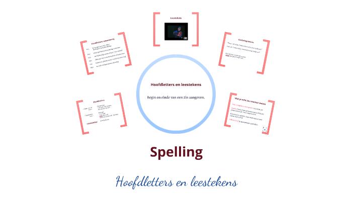 Spelling Hoofdletters En Leestekens By Rona Leidelmeijer On