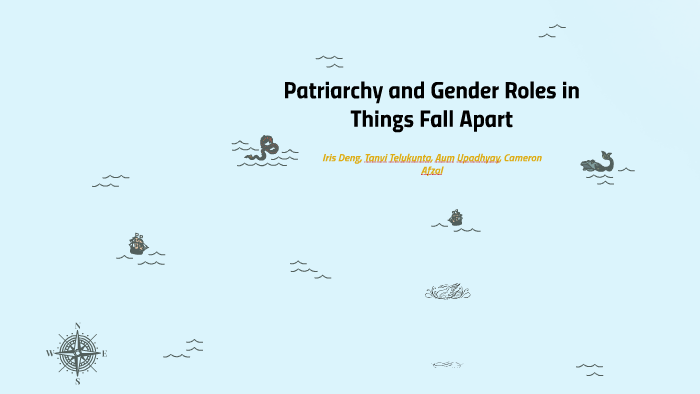 Patriarchy and Gender Roles in Things Fall Apart by Iris