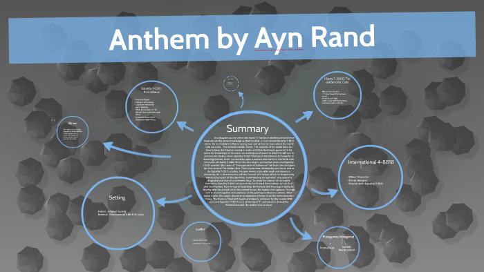 Anthem By Ayn Rand By Rachael Smagay