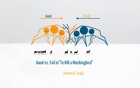 good and evil in to kill a mockingbird