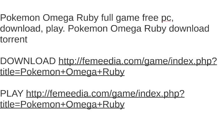 omega torrent