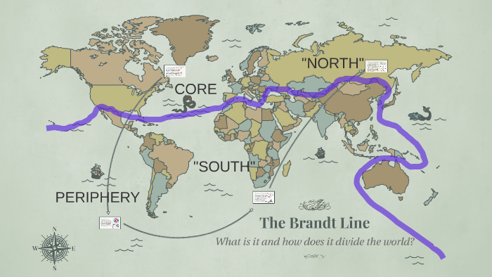 the brandt line map