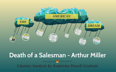 literary techniques in death of a salesman