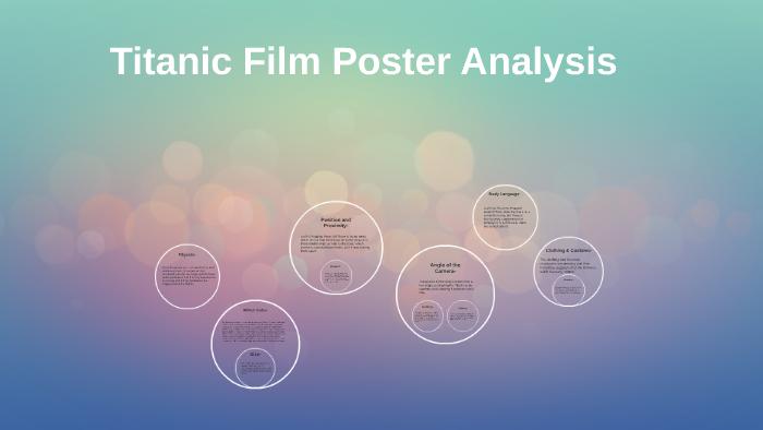 titanic movie poster essay