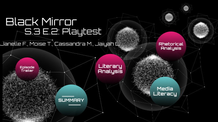 new arrival 31cf2 65d1f Black Mirror by Janelle Friginal on Prezi Next