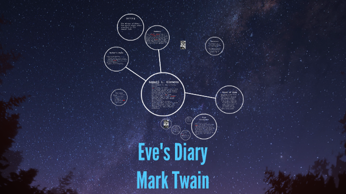 eves diary mark twain summary