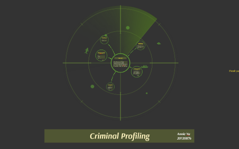 advantages of criminal profiling