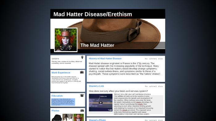 Mad Hatter Disease by Sierra Fisher-Dykman on Prezi