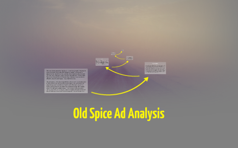 old spice commercial analysis