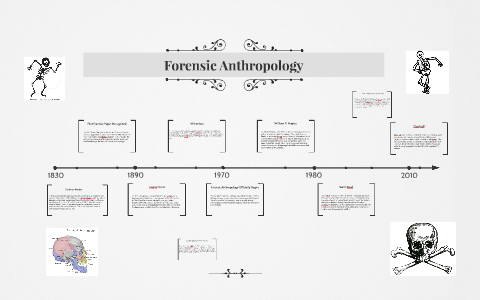 Forensic Anthropology Timeline By Zachary Freilino