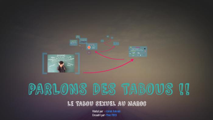 PARLONS TABOUS !! by Ichrak Rk on Prezi