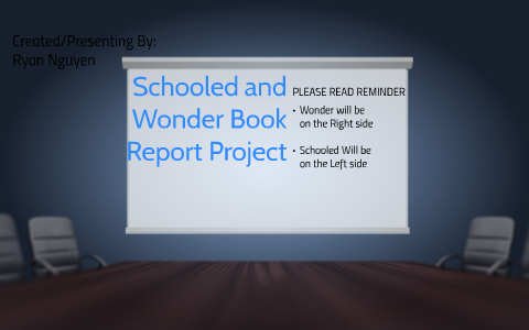 Schooled and Wonder Book Report Project by Ryan Nguyen on Prezi