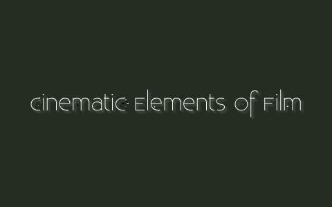 cinematography techniques pdf