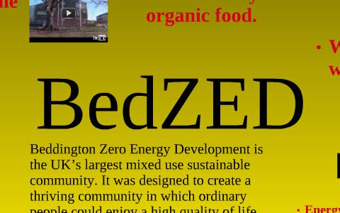 BedZED - SlideShare