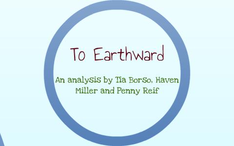 to earthward analysis