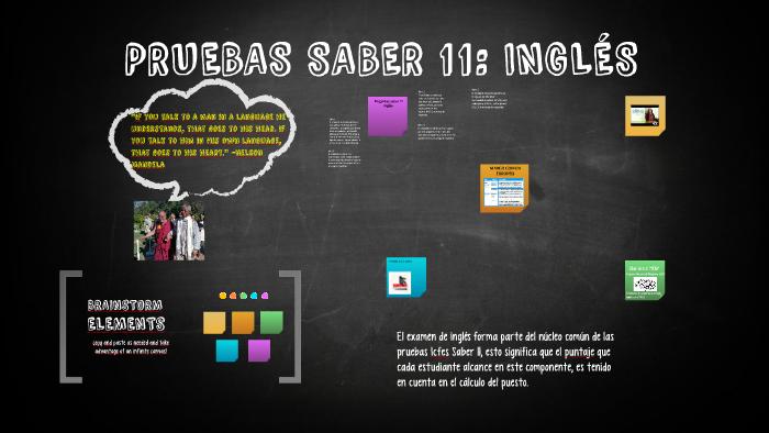PRUEBAS SABER 11: INGLÉS by Lucero Gómez on Prezi Next
