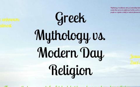 greek mythology in modern day
