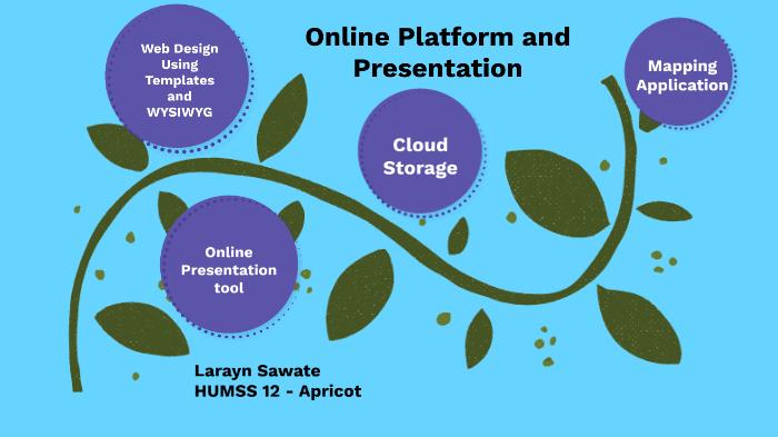 Online Platform And Presentation By Larayn Sawate On Prezi Next
