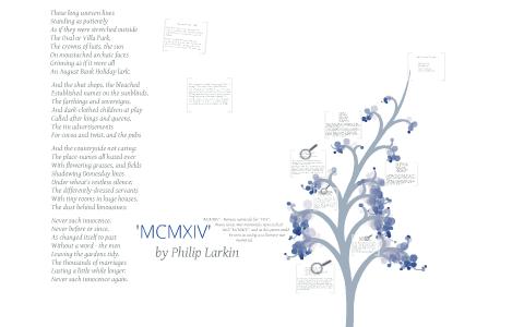 mcmxiv by philip larkin
