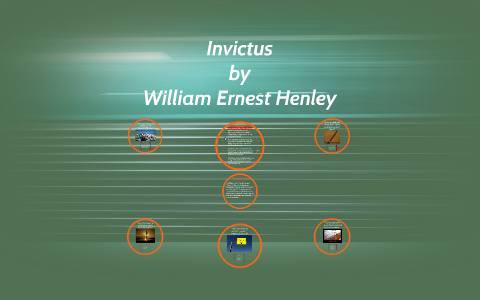what is the tone of the poem invictus
