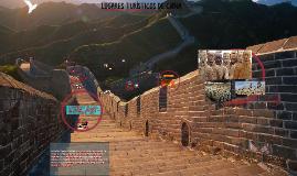 Copy of Copy of Lugares Turisticos de china