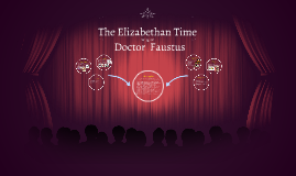 The Elizabethan Time - Doctor Faustus