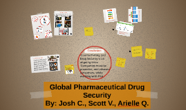 Global Pharmaceutical Drug Security