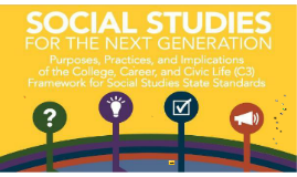 NYSCSS The Future of Social Studies in New York State