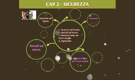CAP. 2 SICUREZZA