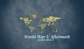 World War I: Aftermath