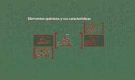 Elementos químicos y sus características