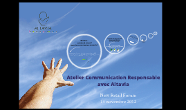 Atelier Communication Responsable par Altavia