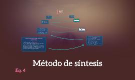 Metodo de sintesis