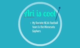Ari is cool