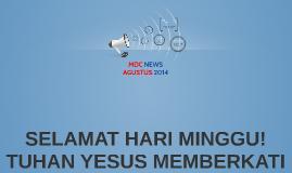 MDC NEWS