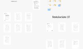 Anteproyecto y Proyecto de Resolución