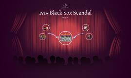 1919 Black Sox Scandal