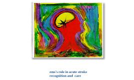 ems's role in stroke