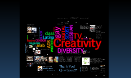 Creativity and Diversity