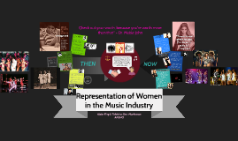 Representation of Women in the Music Industry