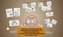 ANÁLISIS Y DESCRIPCIÓN DE PERFILES DE CARGO DE LOS TRABAJADO