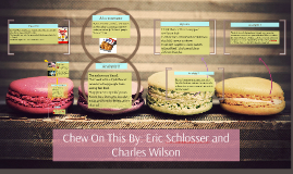 Copy of Chew On This By: Eric Schlosser and Charles Wilson