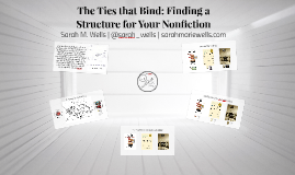 The Ties that Bind: Finding a Structure for Your Nonfiction