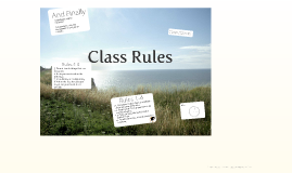 Copy of Class Rules