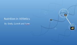Nutrition in Athletics