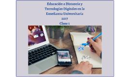 2017 Especialización en Docencia Universitaria UNLP