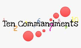 Copy of Ten Commandments