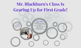 Mr. Blackburn's Class Is
